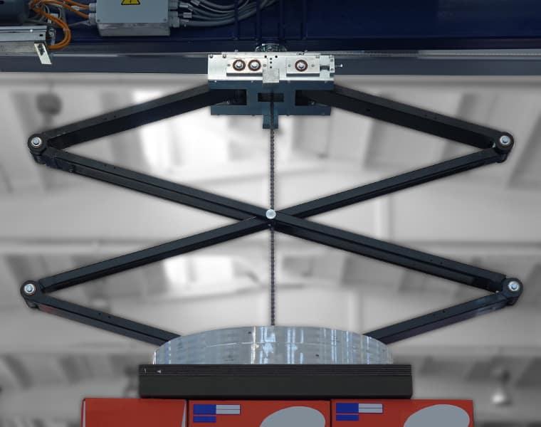 لوحة الضغط العمودي ، اللولب 1 EVO ، Robopac Sistemi