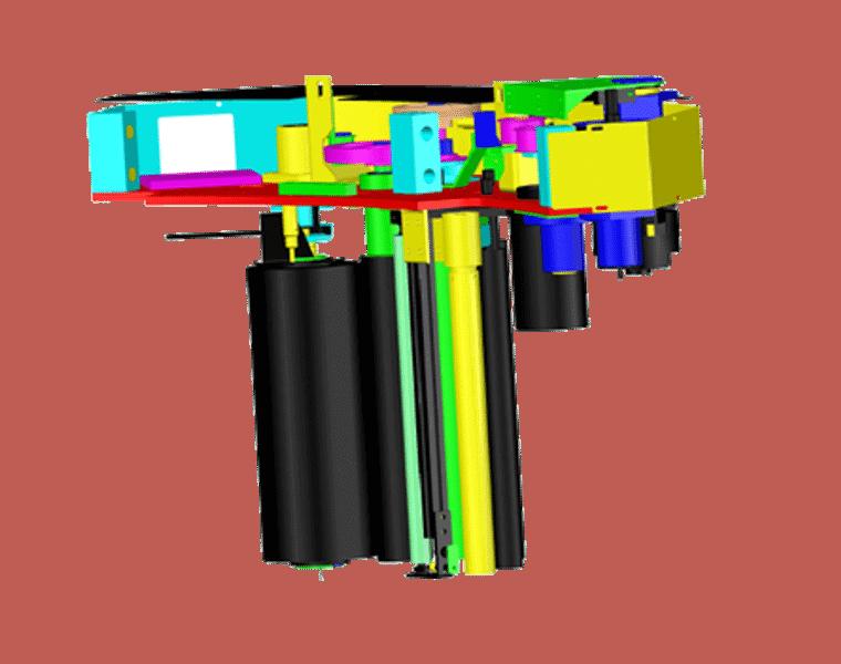 Robopac Sistemi,Carriage, GENESIS HS50