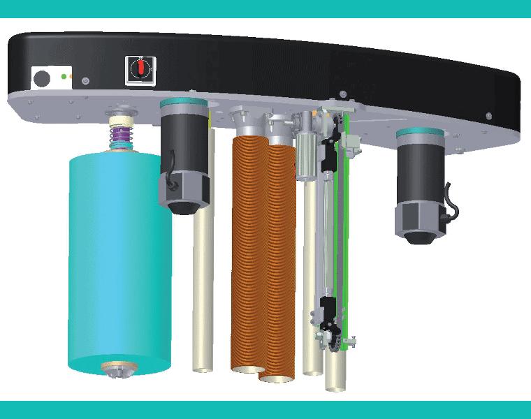 robopac stretch wrap machine manual