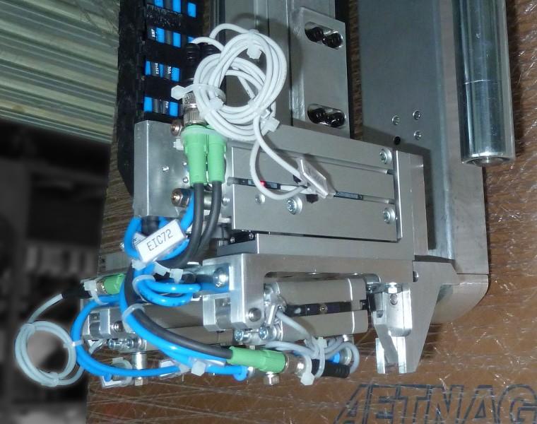 NIP & TUCK CLAMP ، حلول التغليف ، Robopac Sistemi
