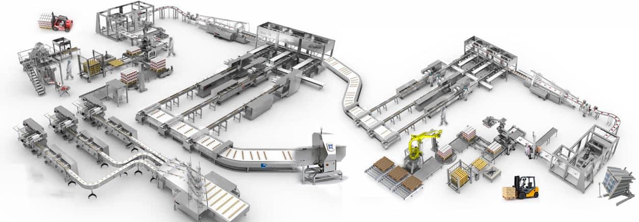 Al Thika Packagng,Packaging,complete packaging lines,end of line
