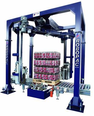 التفاف البليت ، Robopac sistemi ، التفاف البالته التلقائي