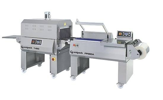 FP560A INOX - Semiautomatic L-sealers, Smipack, shrink wrap