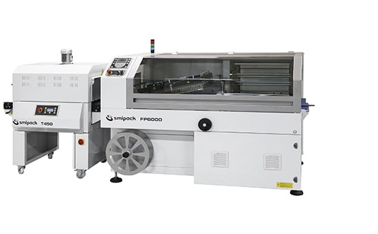 Smipack, shrink wrap, wrapping, automatic L sealers