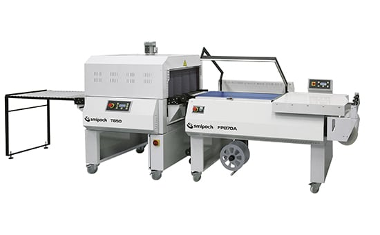 FP870A - Semiautomatic L-sealers, sealing machine