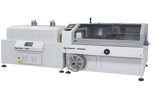 HS500E - Continuous automatic Side Sealers with intermittent cycle,Smipack,shrink wrap