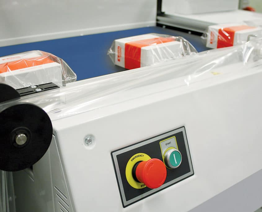 FP series- Semiautomatic L-sealers, Smipack, shrink wrap