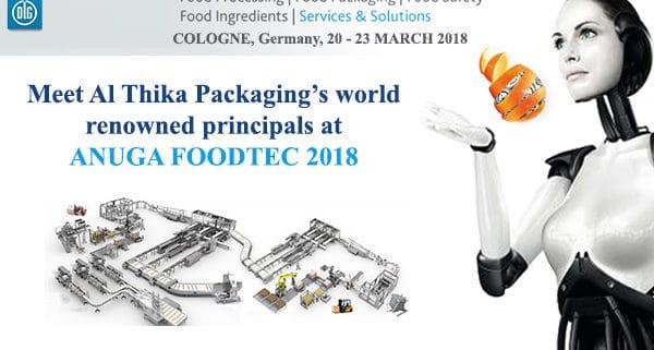 Anuga Foodtec,foodTec 2018