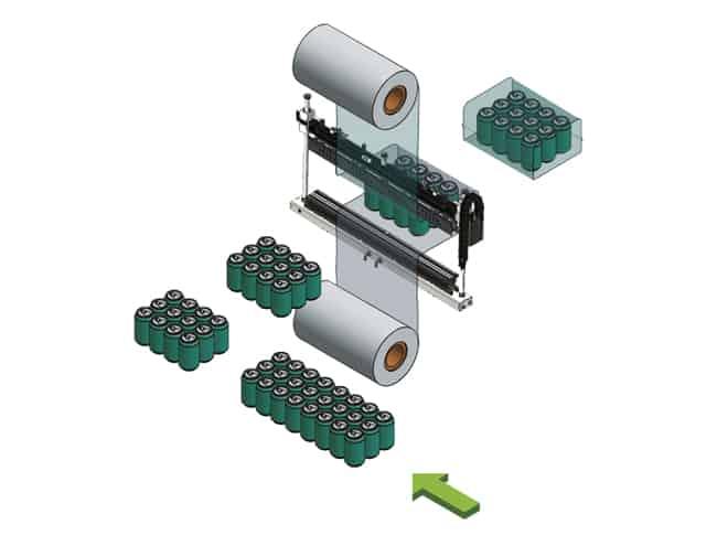 BP802ARV 350R-S - Monoblock automatic shrinkwrapper operation,Smipack,Shrink wrap,packaging