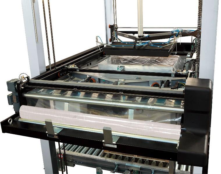 Robopac Sistemi سفر التكوين أعلى داخل فوتورا