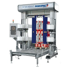 banding wrapping machine,Automatic wrapping machine,end-of-line machine,stretch film