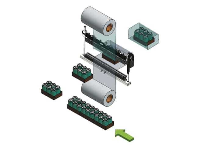Smipack ، Smipack BP-AR350PSemiautomatic ، تقليص الحجم