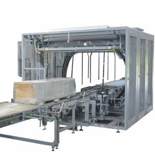 Horizontal stretch wrapping machines,Robopac Sistemi,Spiror FW,pallet wrap,wrapping
