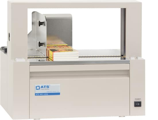 Table-top banding machine ATS-MSX 420,banding machien,ATS banding,heat sealing,banding