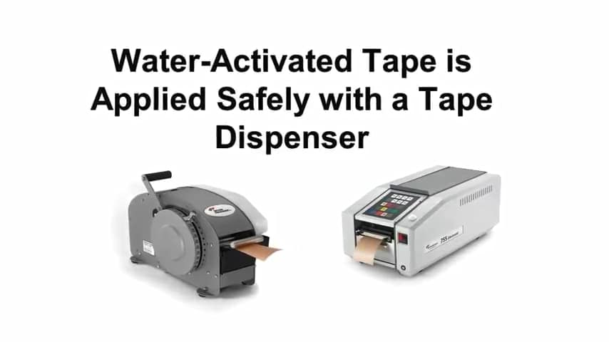Better Packages, Tape dispenser, Water-activated dispenser, 555 series, Itape, dispenser, tapping machine,Al Thika Packaging