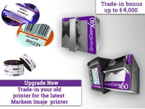 Markem Imaje,SmartDate X40,Trade-In offer,Printers,MI campaign