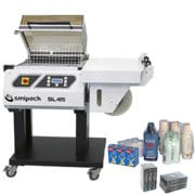 Smipack shrink wrapping machine