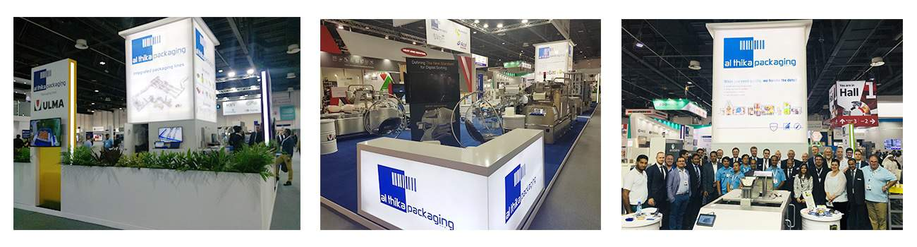 Gulfood Manufacturing, exhibition 2018, Al Thika Packaging, Gulfood, packaging machinery,