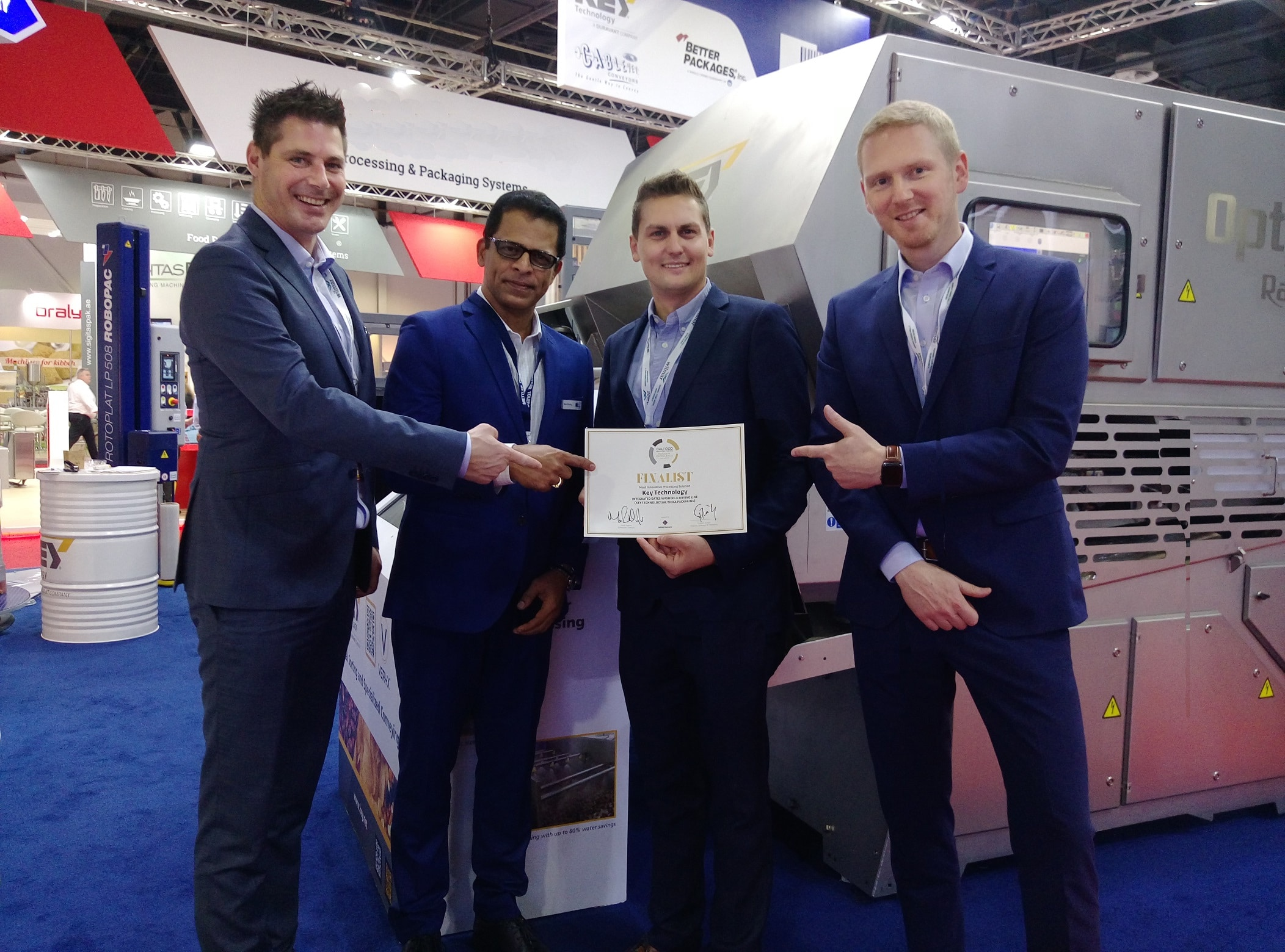 Gulfood Manufacturing, exhibition, UAE, packaging, sorting, processing award machine