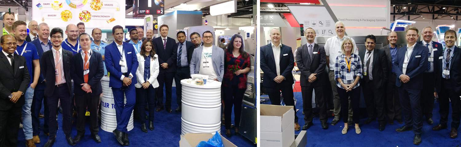 Gulfood Manufacturing, exhibition, AL Thika Packaging, packaging, inspection, Dubai