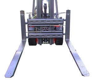 forklift attachment, fork extension, Meijer, material handling equipment
