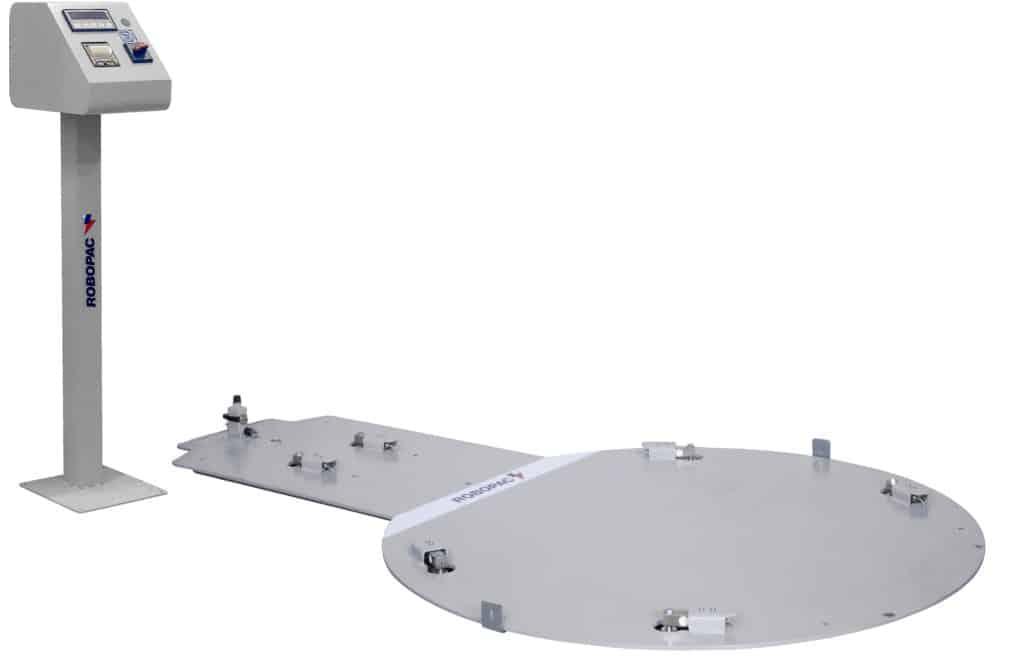 Robopac ، مقياس عدة ، آلة القرص الدوار ، آلة التغليف