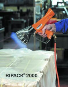 Ripack, shrink gun, bag sealer, Ripack 2000, packaging