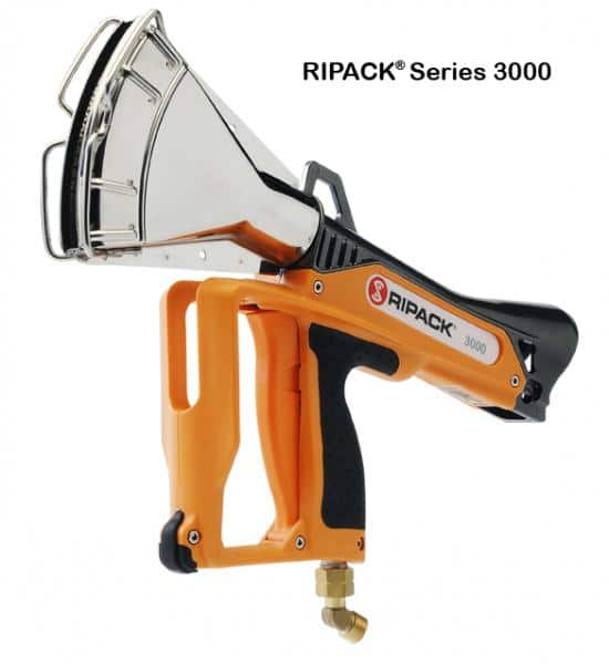 Ripack, shrink guns, professional packaging solutions, road marking, containment, ripack 2000, ripack 2200, gas cylinder trolleys, hose reel winder, film reel holder, calpack, ripacover