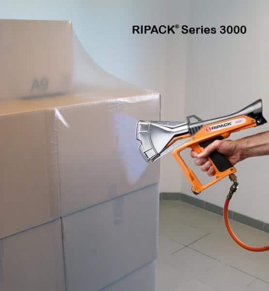 سلسلة Ripack 3000 ، بندقية السداده الحرارية ، بندقية الانكماش ، Ripack ، بندقية الختم