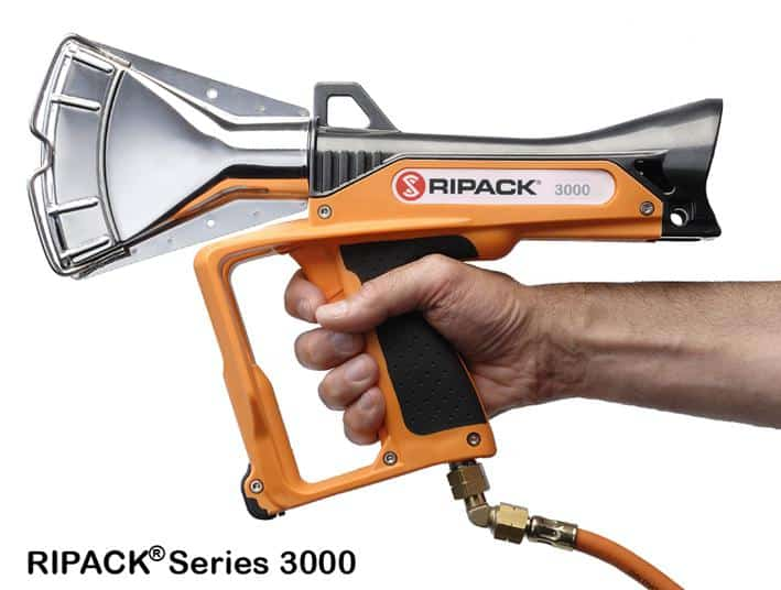 Ripack 3000 series, heat sealer gun, shrink gun, Ripack, sealing gun