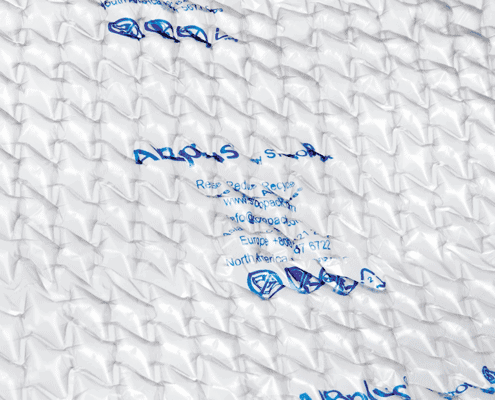 Airplus, wrapping, protection, air pillow, bubble wrap, protective film