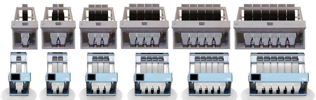 Infinity sorter, IST sorter, Italian sorter, sorting equipment