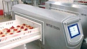 Safeline, metal detector, cake inspection, Safeline