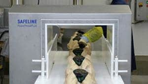 Safeline metal detector, Metal detector, containment detection, food inspection, Safeline