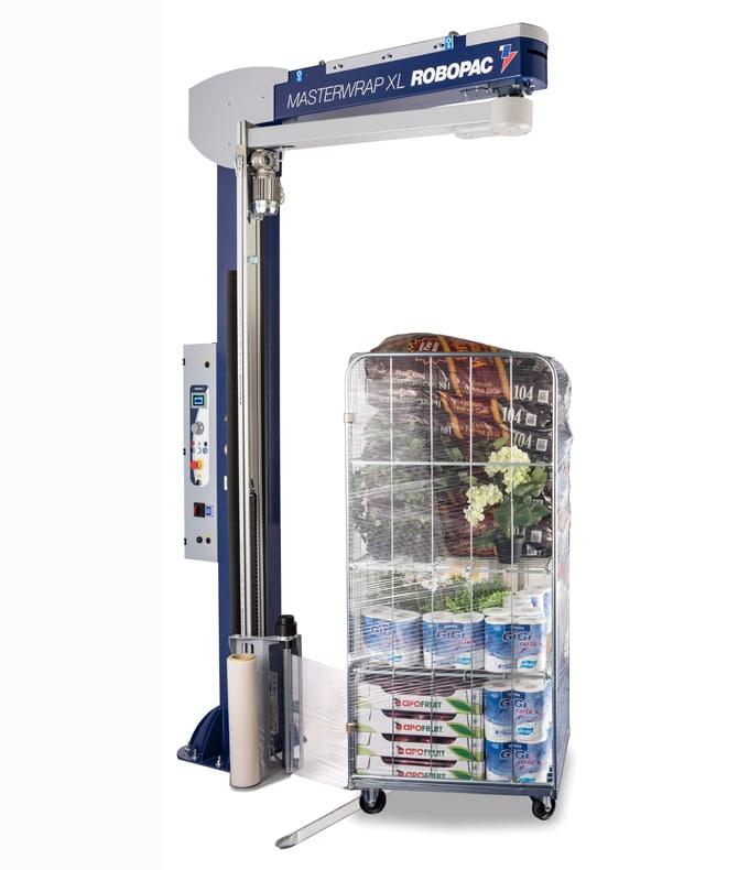 Robopac ، Masterwrap plus XL ، آلة التغليف ، آلة اللف الممتدة