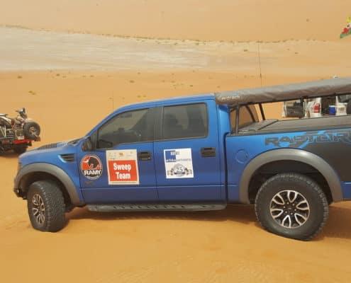 تحدي صحراء أبو ظبي ، مسيرة ، تحدي صحراوي