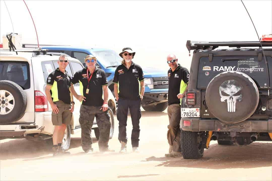 Ian Barker, AL Thika Packaging, Abu Dhabi Desert champion