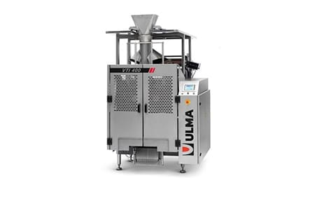 Vertical packaging machine, packaging machine, ULMA