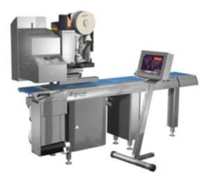 ES 7700 labeller, weigh price labelling machine, C-labels, Espera