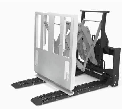 ROLLERFORKS® PUSH-PULL مع رافعة شوكية هيدروليكية ، أداة الرفع بالسحب Rollerfork ، أداة دفع السحب