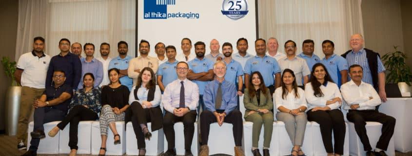 Al Thika Packaging team
