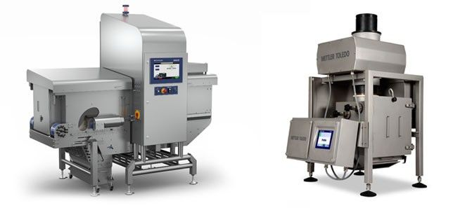 Bulkfood inspection system, X-ray inspection, metal detector, Mettler Toledo