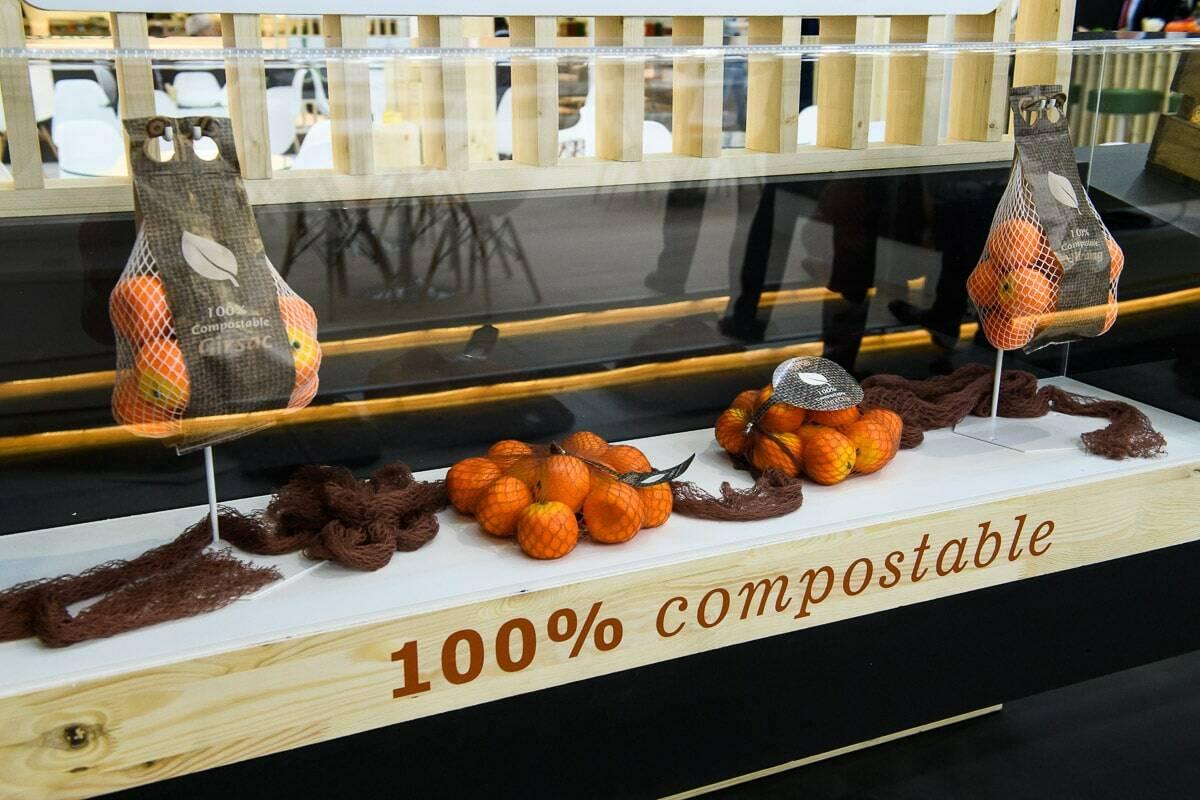 100 ٪ من السماد القابل للتعبئة ، آلة التعبئة الصافية ، آلة التعبئة المعاد تدويرها