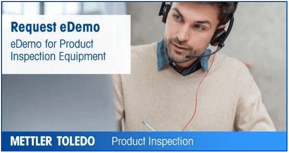 eDemo, Mettler Toledo eDemo, Product inspection eDemo