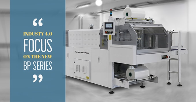 industry 4.O, shrink wrap machine, wrapping machine, BP series