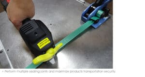 PP strapping tool, plastic strapping machine