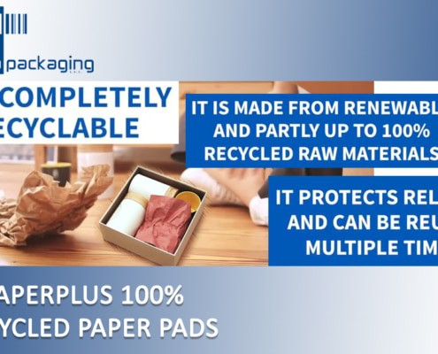paperplus, protective packaging machine, paper packaging machine, Storopack, 100% recycled