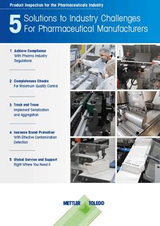 product inspection machine for pharma, pharma metal detector, checkweigher for pharmaceutical, mettler toledo solutions