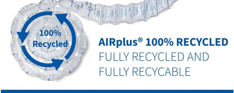 Storopack recycled film, protective packaging film, protective film, sustainable packaging