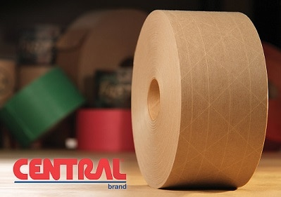 water activated tape, tape, paper tape